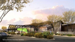 Parsons Leadership Center Drop Off (Rendering)
